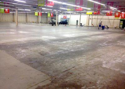 Čištění betonových podlah 04