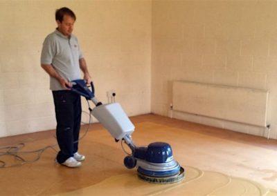Čištění podlah marmoleum 02