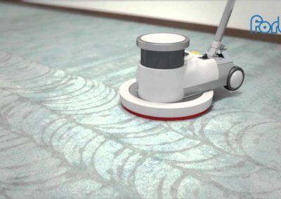Čištění podlah marmoleum 04