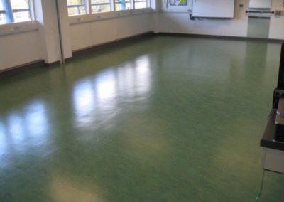 Čištění podlah marmoleum 06