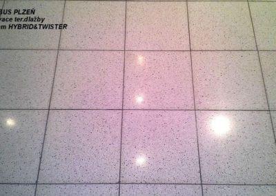 Čištění teracových podlah 08