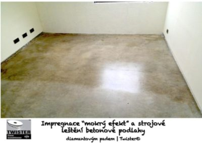 Impregnace betonových podlah 03