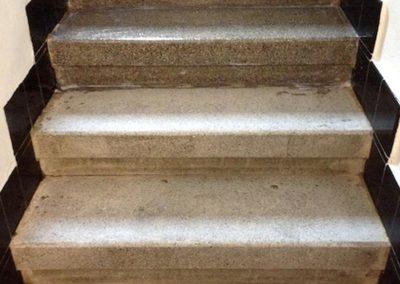 Impregnace schodů 02