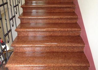 Impregnace schodů 06