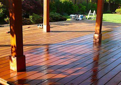 Lakování dřevěných podlah 06
