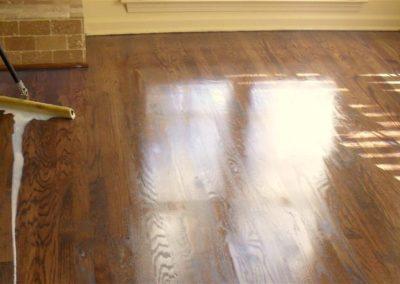 Olejování a voskování podlah 03