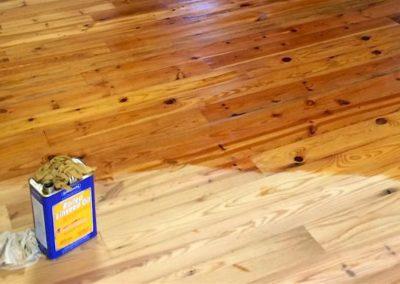 Olejování a voskování podlah 08